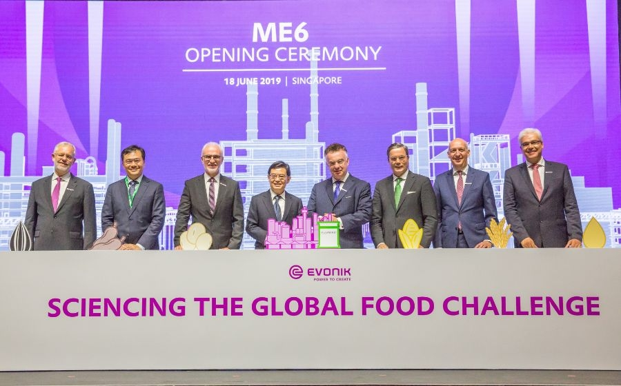 Evonik commissions second complex for MetAMINO® production in Singapore